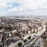 Nantes & Region: Nantes von oben