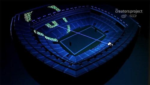 Artikelbild für: Interaktive Lichtshows mit großen Menschenmassen: Besucher als einzelne LED-Pixel