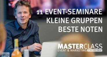 Masterclass Eventseminare in Stuttgart