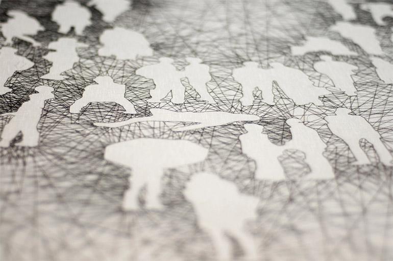 Artikelbild für: Moderne Stickereien von Nastasja Duthois