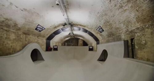 Artikelbild für: House of Vans – unterirdischer Skatepark in London