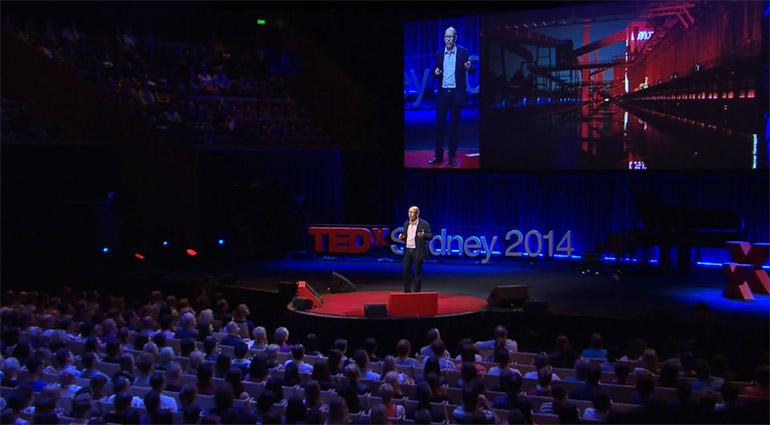 """Artikelbild für: Lichtdesigner Mark Major plädiert für mehr Dunkelheit – TEDxSydney Vortrag """"Dark City"""""""