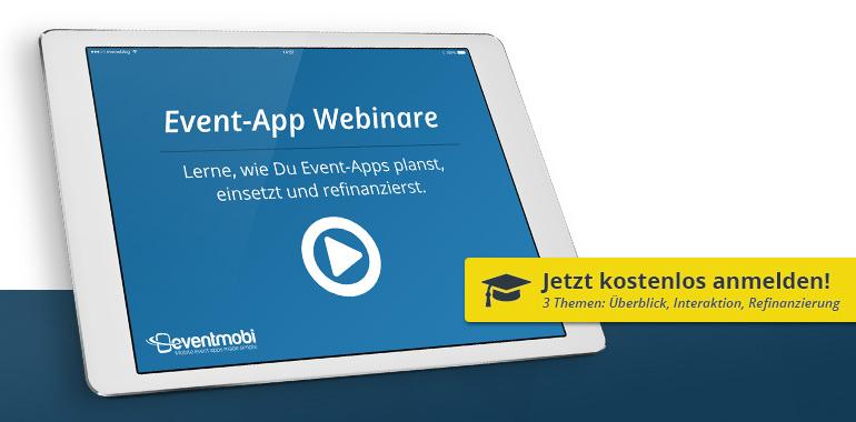Event-App Webinare: kostenlos teilnehmen
