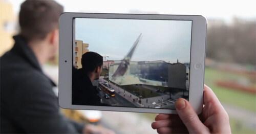 Artikelbild für: Timetraveler: Augmented Reality App macht Geschichte der Berliner Mauer erlebbarer