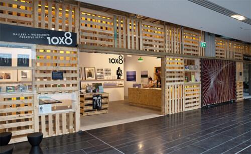 Artikelbild für: Vielseitige Pop-up Location und Galerie aus Paletten
