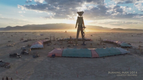 Artikelbild für: Burning Man Festival 2014: fantastische Eindrücke und Videos