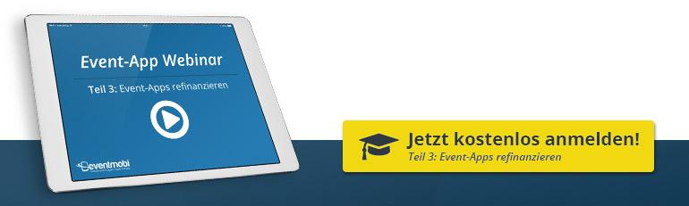 Event-App Webinare: Teil 3 - Refinanzierung