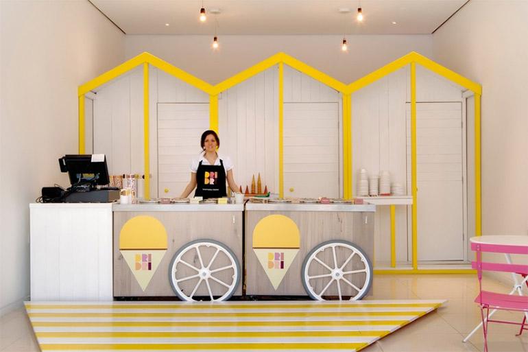 Artikelbild für: Raumdesign: puristisch und trotzdem emotional – Dri Dri Shopdesign von Elips Design
