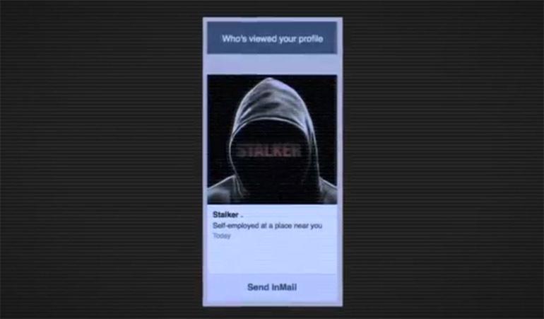 Artikelbild für: Unheimliche Social Media Promotion: Stalker hat Dein Profil angesehen