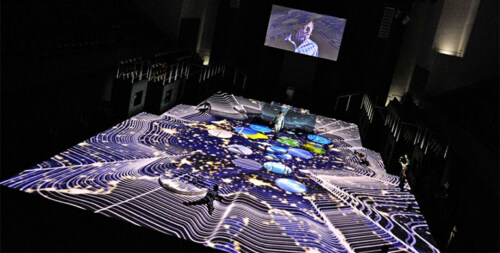 """Artikelbild für: Event-Inszenierung der Fraunhofer Jahrestagung 2014 – Interview & Blick hinter die Kulissen des """"Energiesees"""""""