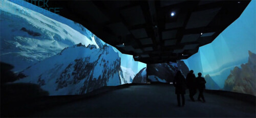 Artikelbild für: Audiovisuelles Panorama: eine emotionale Inszenierung der Gletscherwelt auf dem Jungfraujoch
