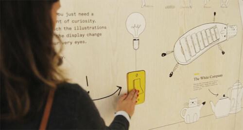 Artikelbild für: Interaktives Messedesign: Storytelling mit spielerischen Illustrationen – Dalziel and Pow auf der Retail Design Expo