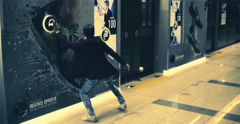 Artikelbild für: Sportliches Passanten Battle in der U-Bahn: Reebok Promotion-Aktion