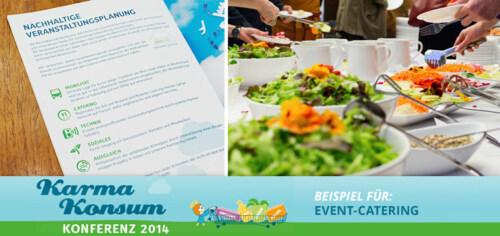 Artikelbild für: Nachhaltiges Event-Catering: Karma Konsum Konferenz als Praxisbeispiel – Teil 4