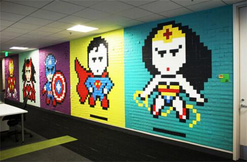 Artikelbild für: Eventdesign Ideen: Superhelden aus Post-its