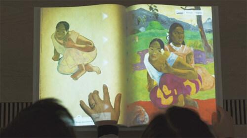 Artikelbild für: Kombination aus Realität und Virtualität: interaktives Buch der Paul Gauguin Ausstellung