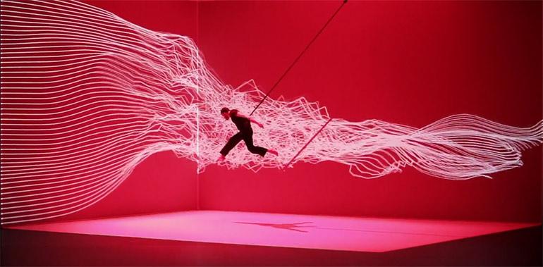 Artikelbild für: 3D Mapping Tanz Inszenierung von Adrien M und Claire B