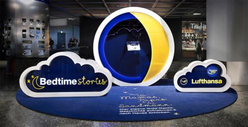 Artikelbild für: Flughafen Promotion für reisende Eltern: Bedtime Stories