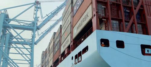 Artikelbild für: Eine Choreografie aus Containern & Frachtkränen – Eröffnungs Event für die APM Terminals Maasvlakte II