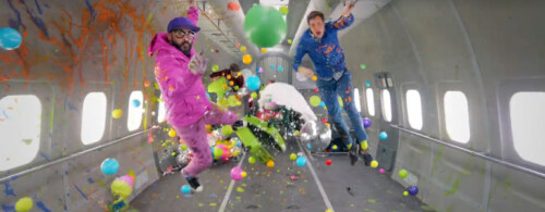 Artikelbild für: Neues Ok Go Video in der Schwerelosigkeit: Upside Down & Inside Out