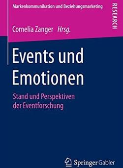 Buchcover von Events und Emotionen: Eventforschung