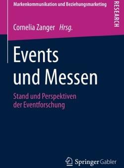 Buchcover von Events und Messen: Eventforschung