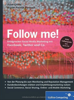 Buchcover von Follow me!: Social Media Marketing