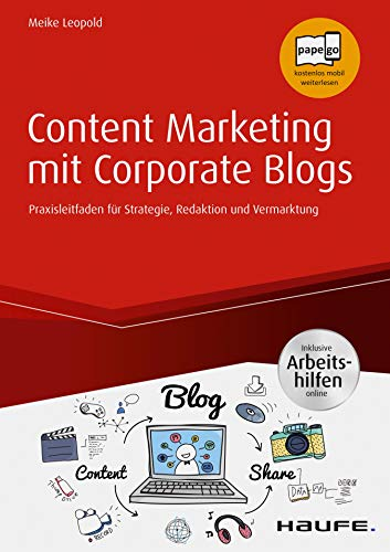 Buchcover von Content Marketing für Corporate Blogs