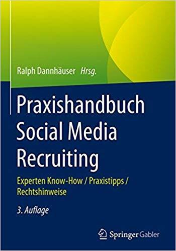 Buchcover von Praxishandbuch Social Media Recruiting