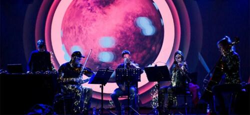 Artikelbild für: Klang- und Bildwelten: Elektronische Musik mit Streichquartett – Laut & Luise Quintett