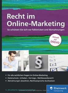 Buchcover von Recht im Online-Marketing