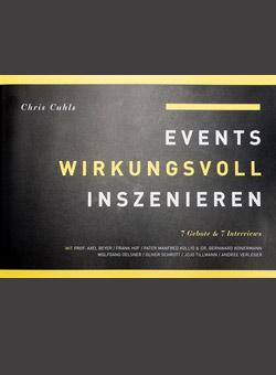 Buchcover von Events wirkungsvoll inzenieren
