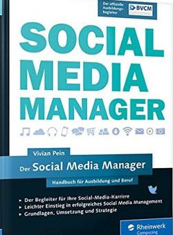 Buchcover von Der Social Media Manager