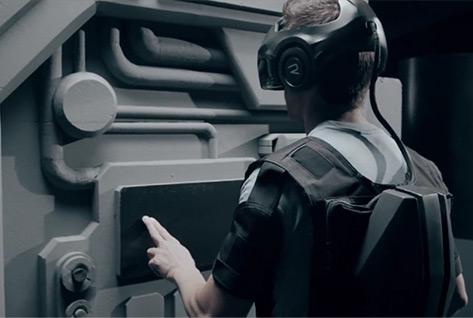 """Artikelbild für: Multisensorische Virtual Reality: Virtuelle und reale Erlebniswelt """"The Void"""""""