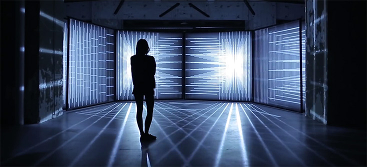 geheimnisvolle licht und klang installation vom studio nonotak. Black Bedroom Furniture Sets. Home Design Ideas