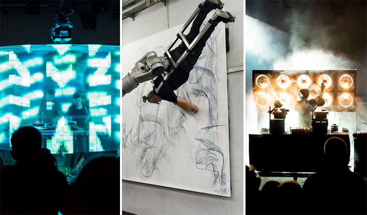 Artikelbild für: Highlights der Ars Electronica 2016: fünf außergewöhnliche Performances & Shows