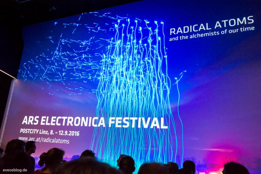 Artikelbild für: Fotos vom Ars Electronica Festival 2016