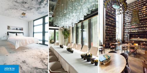 Artikelbild für: 5 Panorama und Design Hotels in Zürich