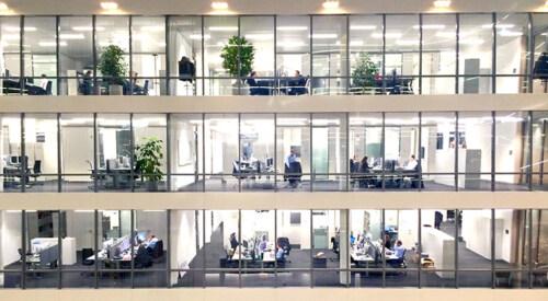 Artikelbild für: Wie sehen Büros der Zukunft aus? Und was kann die Live-Kommunikation daraus lernen?