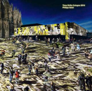 Artikelbild für: Lichtinstallation als Antwort auf die Kölner Silversternacht: Time Drifts Cologne