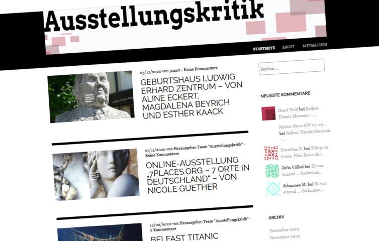 Artikelbild für: Link-Tipp: Eindrücke und Kritiken von Ausstellungen