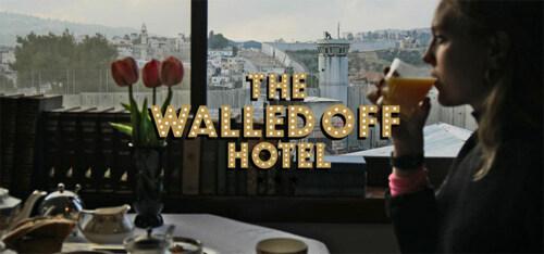 """Artikelbild für: Banksy eröffnet Hotel: """"The Walled Off"""" – direkt an der Mauer zwischen Israel und Palästina"""