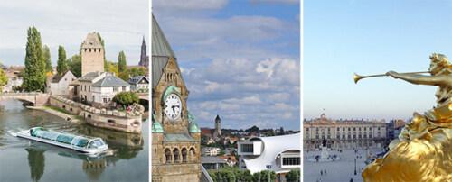 Artikelbild für: News für Events in Elsaß-Lothringen: Von Straßburg über Metz nach Nancy
