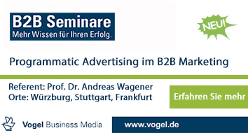 B2B Marketing bei Vogel Media