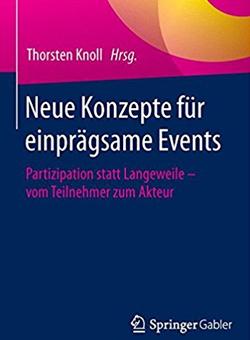 Buchcover von Neue Konzepte für Events: Partizipation statt Langeweile
