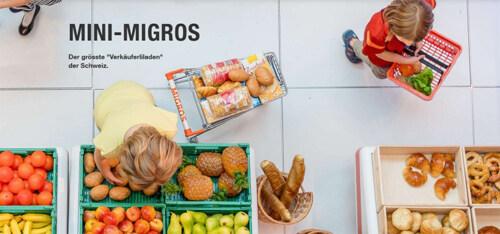 Artikelbild für: Mini-Migros: ein 100qm großer Spielladen auf Tour