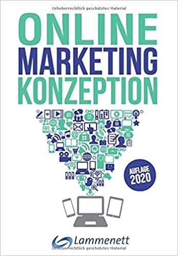 Buchcover von Online-Marketing-Konzeption