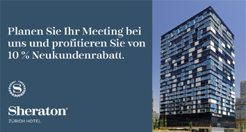 Meetings im Sheraton Hotel Zürich