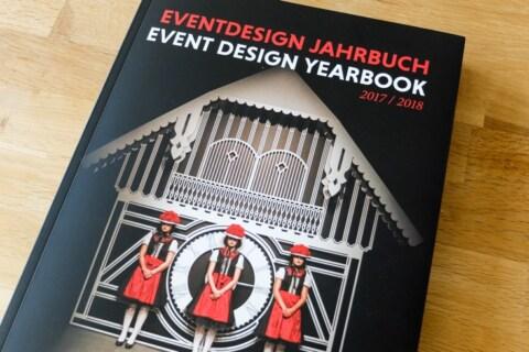 Artikelbild für: 3 Highlights aus dem Eventdesign Jahrbuch 2017/2018