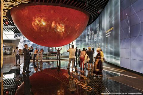 """Artikelbild für: EXPO 2017 Astana: Ausstellung im Wahrzeichen der Weltausstellung """"Sphere"""""""